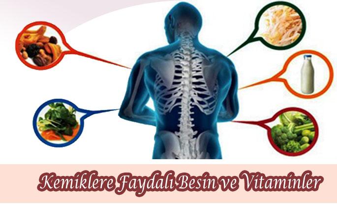 Kemiklere Faydalı Besin ve Vitaminler